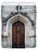 Ancient Door Duvet Cover by Douglas Barnett