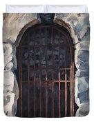 Ancient Door Duvet Cover