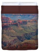 Ancient Formations North Rim Grand Canyon National Park Arizona Duvet Cover