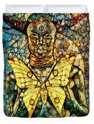 Ancient Goddess The Mother Duvet Cover