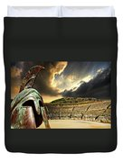 Ancient Greece Duvet Cover by Meirion Matthias