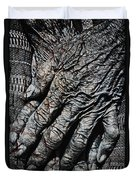 Ancient Hands Duvet Cover by Skip Nall
