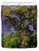 Ancient Oak At Rinconada De Los Gatos S Duvet Cover