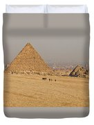 Ancient Of Times - Modern Of Times Duvet Cover