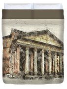 Ancient Pantheon Duvet Cover