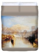 Ancient Rome - Agrippina Landing With The Ashes Of Germanicus Duvet Cover