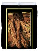 Ancient Roots Of Greece Duvet Cover