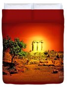 Ancient Ruins Duvet Cover
