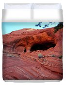 Ancient Ruins Mystery Valley Colorado Plateau Arizona 01 Duvet Cover