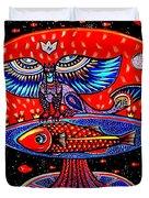 Ancient Russia Duvet Cover