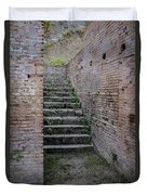 Ancient Stairs Rome Italy Duvet Cover