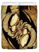 Ancient Symbols Duvet Cover