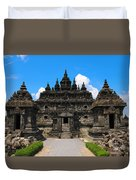 Ancient Temple Duvet Cover
