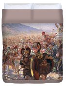 Ancient Warriors Duvet Cover