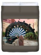 Ancient Water Mill Greece  Duvet Cover