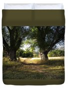 Ancient Willows #1 Duvet Cover