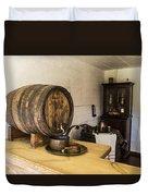 Ancient Wine Shop Duvet Cover