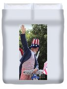 Uncle Sam Says... Duvet Cover