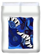 and All That Jazz two Duvet Cover