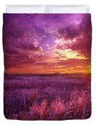 And I Dreamt Of Waking Duvet Cover