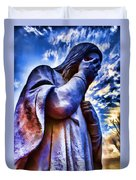 And Jesus Wept Duvet Cover