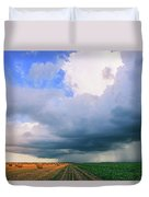 And Then The Sky Opened Duvet Cover