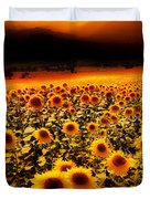 Andalucian Suns Duvet Cover by Mal Bray