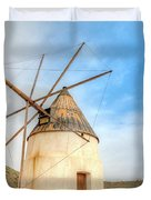 Andalusian Windmill Duvet Cover by Heiko Koehrer-Wagner