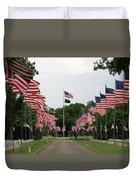 Andersonville National Cemetery Duvet Cover