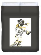 Andrew Mccutchen Pittsburgh Pirates Pixel Art 1 Duvet Cover