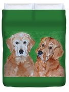 Andy And Max Duvet Cover