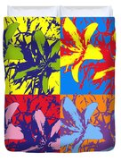 Andy's Lillies Duvet Cover
