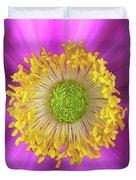 Anemone Hupehensis 'hadspen Duvet Cover