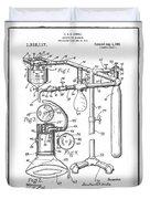 Anesthetic Machine Patent 1919  Duvet Cover