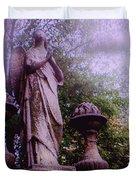 Angel At Old Swedes Duvet Cover