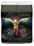 Angel Body Art Duvet Cover