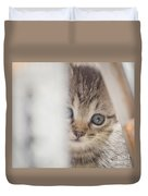 Angel Came To You  Duvet Cover