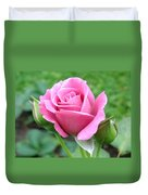 Angel Face Rose Duvet Cover