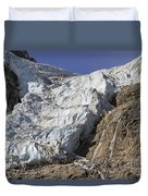 Angel Glacier Duvet Cover