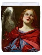 Angel Holding The Vessel And Towel For Washing The Hands Of Pontius Pilate Duvet Cover