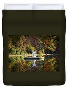 Angel In The Lake - St. Mary's Ambler Duvet Cover