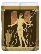 Angel Le Tombeau De Bilitis Duvet Cover
