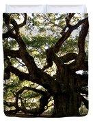 Angel Oak In November Duvet Cover