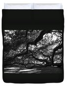 Angel Oak Limbs Bw Duvet Cover
