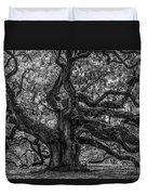 Angel Oak Tree Americana Duvet Cover