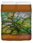Angel Oak Tree Charleston Sc Duvet Cover