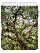 Angel Oak Tree Of Life Duvet Cover