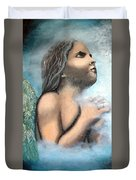 Angel Of Faith Duvet Cover