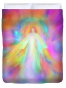 Angel Of Forgiveness And Compassion Duvet Cover