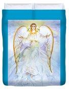 Angel Of Grace Duvet Cover
